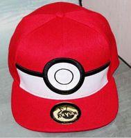 Cheap Cosplay Anime pokemon Pocket Monster Pikachu Ash hat snapback baseball Cap