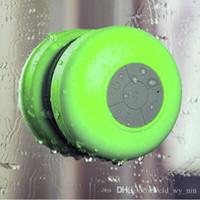 Cheap Waterproof Wireless Bluetooth Portable Shower Speaker & car Handfree speakerphone Colorful for apple iphone samsung HTC MP3 MP4