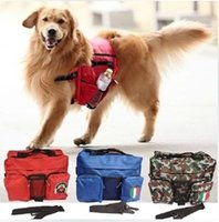 Wholesale New Large Pet Dog Bag and Big Cool Dogs Outdoor Backpack Food and Toy Bag for Dogs