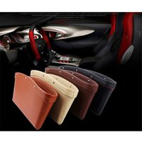 big box mobile storage - 2X Car Seat Gap Storage Box Auto Accessories Notebook Mobile Phone Holder Organizer Pocket Big Space Extended