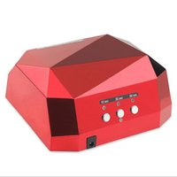 Wholesale 36W UV Lamp Nail Dryer LED Ultraviolet Lamp for Nails Diamond Shaped Nail Lamp CCFL Curing for UV Gel Polish Nail Art Tool