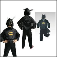 best batman costumes - 2016 Superhero costume For Kids New Best Selling Halloween Costume Cosplay Costumes Clothes Kids Capes With Mask Spiderman Batman Superman