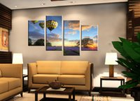 balloon animals pictures - Unframed pieces Canvas Print Hot Air Balloon Lavender Manor desert moon sea Sailing mountain brook Statue of Liberty Bicycle
