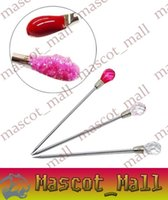 Wholesale DY216 Luxury Stainless steel Stick Nail Art Nail Tools Drill Stick To Clean Excess Oil Dirt Beech Stainless Steel Sticks