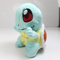 authentic dolls - 2016 New Authentic TOMY Poke mon Squirtle cm Plush Doll Toy gift kids best Christmas Child gift Japan Anime Cartoon