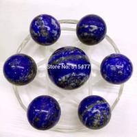 ball array - Natural lapis lazuli crystal ball seven array decoration feng shui ball transhipped ball hypnosis