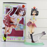 Wholesale Anime Kotobukiya Perverted prince and not laugh cat Hidden barrel month PVC Action Figure Model Toy for kids action figure