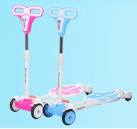 Wholesale pk613 New Child breaststroke folding bike scooter Baby Child Children Skate Vehicle tb220801