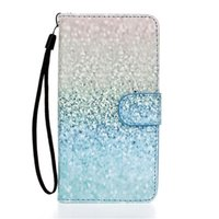 apple penguin - Owl Dandelion Sequins Penguin Pattern PU Leather Full Body Case with Stand for Huawei Samsung PHONE SONY WIKO
