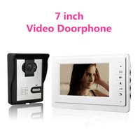 apartment intercom systems wireless - Home Apartment inch TFT LCD Monitor Color Video Door Phone Intercom System IR Outdoor Camera Doorphone