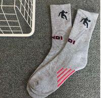 athletic ankle support - Mens gray Sports Athletic Crew Socks Cotton Sport Support Crew Gym Basketball Tube Socks Dri FIT Cotton towel socks LJJK106 pair