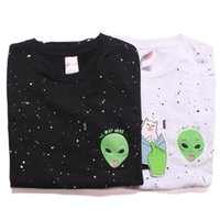 alien t shirts - Ripndip Aliens We Out Here T Shirt Rip N Dip Lord Nermal Pocket Tops Tee Men Women Dots Printed Short Sleeve Funny Tshirts