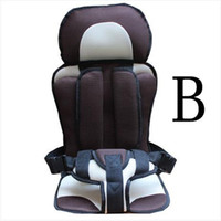 Wholesale Chair baby sit adjustable baby car seat Portable Baby Car Seats Children Safety Seat infant booster breathable