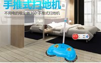 automatic dustpan - The automatic hand push type household sweeper broom and dustpan floor cleaning tool suite