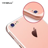 Wholesale For Apple iPhone TPU Soft Case Protect Camera Cover Crystal Clear Transparent Silicon Ultra Thin Slim Shell for iPhone7 Plus