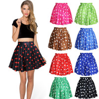 Wholesale Women s High Waist A Line Pleated Skirts Flower Print Party Mini Skirt