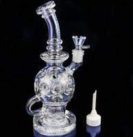 ball bases - Bong hole high quality life ball rig glass bong Oil Rigs Glass Design torus fab egg life ball rig heavy bases water pipe ST K