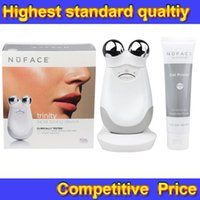 ac seal kit - Newest Small Package Nuface Trinity Pro Facial Toning Device Kit White Pink top quality Brand New Sealed DHL