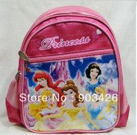 Wholesale by DHL UPS High Quality Princess Children s School Bag Rucksack Cartoon School Backpack G2331