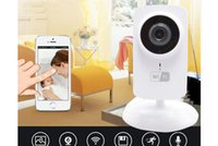 Wholesale Wireless Wifi Baby Monitor Video P IP Camera Baby Eletronic support Night Vision TF slot for iPhone Android PC