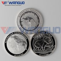 australian silver coins - 3 P Australian Perth Mint Animal Coin Dollar Troy Oz Kangaroo Koala Kookaburra Fine Silver Coins