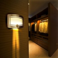 aa wall lamps - LED Night Light Motion Sensor Smart Controller Lighting Wall Lamp Powered By AA Battery For Bedroom Wall Path Laundry Stair Lamp