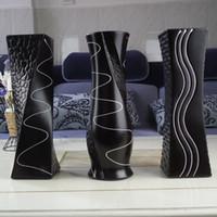 mode européenne Céramique Vase, porcelaine Vases décoratifs, vaso pour la décoration maison moderne, table Vase