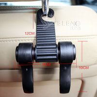 auto coat hanger - New Multifunctional Car Holder Hook Hanger Auto Bags Organizer Coat Hook Accessories Holder Car Storage Accessories