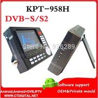 Wholesale KPT H TFT LCD satfinder hd KPT H handheld monitor kpt finder dvb s2 Digital Sattlite Finder KPT H satlink ws ws6905