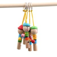 Wholesale Baby Toys Boy Pirate Whistle Wooden Whistling Educational Toys Child Whistle Wooden Toys Child Gift Musical Instrument