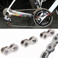 bicycle chain quick link - New Pair Bike Chains mountain road bike bicycle chain Connector for Speed Quick Master Link Joint Chain bike parts