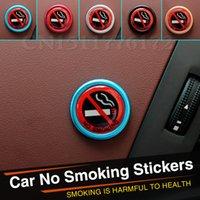 accent products - New product Car Styling Car Sticker No Smoking For Hyundai I30 IX35 IX45 Santa Fe Elantra Accent Solaris Verna Sonata Color