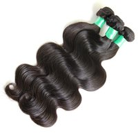 Wholesale 6A Brazilian Virgin Hair Body Wave Weft Hair Weave Extensions Full Head Natural Color Dyeable Bleachable Unprocessed