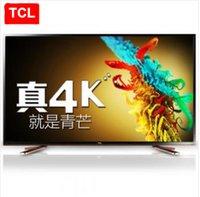 TCL 55 pouces ultra-haute définition 4K Andrews intelligent LED LCD TV à écran plat double système WeChat Internet TV Livraison gratuite!