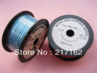 Wholesale 1 roll ft AWG Wire Wrapping Wire Sliver Plated Copper Color Blue Other Wires Cables amp Cable Assemblies