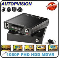 Wholesale 4Channel H Mobile DVR Car DVR Recorder for car bus vehicle security surveillance system for HDVR8045