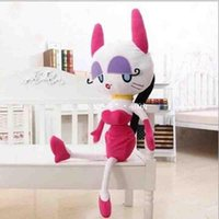 80cm sex doll - new korea sex Miss Cat plush toy doll filling PP cotton for baby birthday best gift