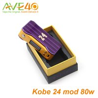 automatic temperature controls - Authenic Kobe K W TC Box Mod with automatic balance temperature control mechanical vape mods ecigarette kobe mod
