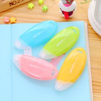 Wholesale Cute Candy Color Deli Correction Tape Correction Fluid School Office Supply Promotional Gift Stationery