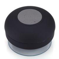Wholesale Portable Waterproof Wireless Bluetooth Speaker Shower Car Handsfree Receive Call amp Music Suction Phone Mic In bath YX001 C