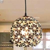 aluminum listings - the new listing Silver Bedroom Pendant Lights Fixture Aluminum Hanging LED Lamp Crystal Light Luxury lamp Dia180mm