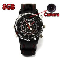 Wholesale Waterproof Spy Watch DVR Video Recorder Pinhole Hidden Mini Camera Camcorder Wrist Watch Action Video Master With Video GB GB x1024