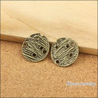 ancient tablet - New Vintage Charms Circular tablets Pendant Ancient bronze Fit Bracelets Necklace DIY Metal Jewelry Making A045