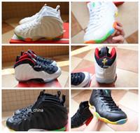 foamposite - 2016 Foamposites Air Penny Hardaway Basketball Shoes For Women High Quality Foamposite Athletic Sport Sneakers Eur Size