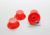 Bouton de tonalité rouge Avis-Bouton de contrôle de tonalité de tonalité ROUGE ROUGE 4Pcs pour guitare LP SG
