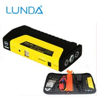 battery powered vehicles - LUNDA Selectec Multi function Vehicle Car Jump Starter Portable Smartphone Laptop Charger Battery Pack Power Bank Emergency Kit with LED To