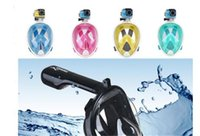 Wholesale Update version China scuba Snorkel Full Face Diving Mask hot in
