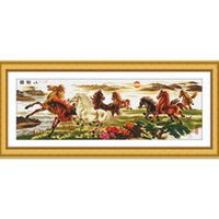 Wholesale Finished cross stitch embroidery cross stitch a Pentium Bajun new living room series