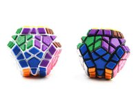 baby magic design - 2 designs Special patch Megaminx Magic Cubes Pentagon Sides Sticker Dodecahedron Toy Puzzle Twist for baby gift D693