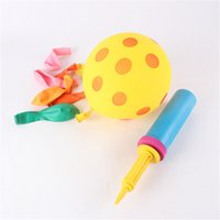 balloons inflator air pump - Mini Plastic Hand Held Ball Party Balloon Inflator Air Pump x5cm Portable Useful Balloon Decoration Tools